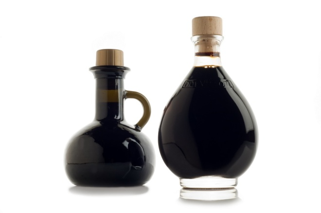 Types of balsamic vinegar of Modena