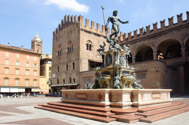 Bologna - the Neptune's Fountain