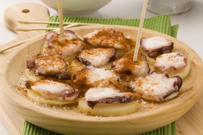 Pulpo alla Gallega - octopus Galician style
