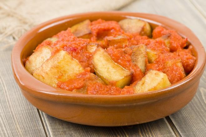 Spanish patatas bravas