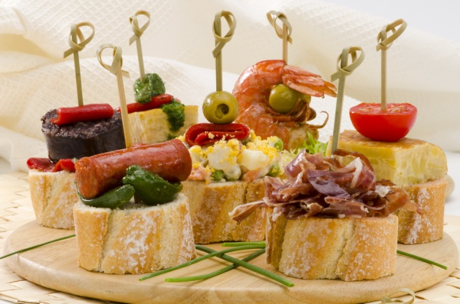 Spanish tapas - montaditos