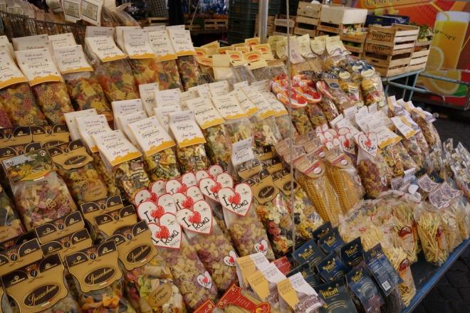 Rome, Piazza Campo de'Fiori market