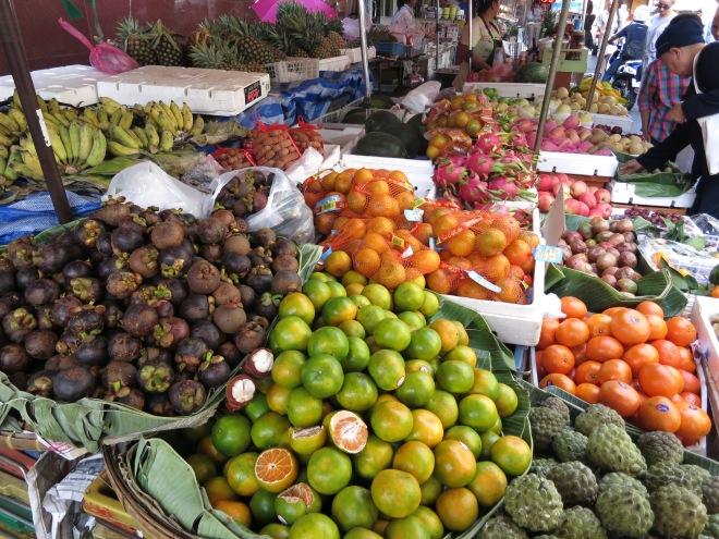 Fruit market in Bangkok