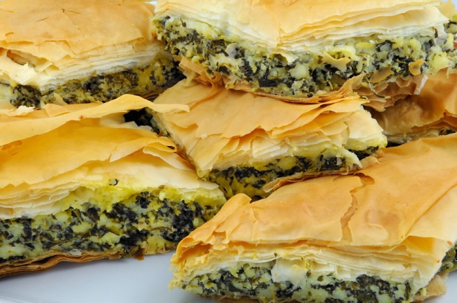 Spanikopita (Feta Cheese & Spinach Pie) - Greek_resize