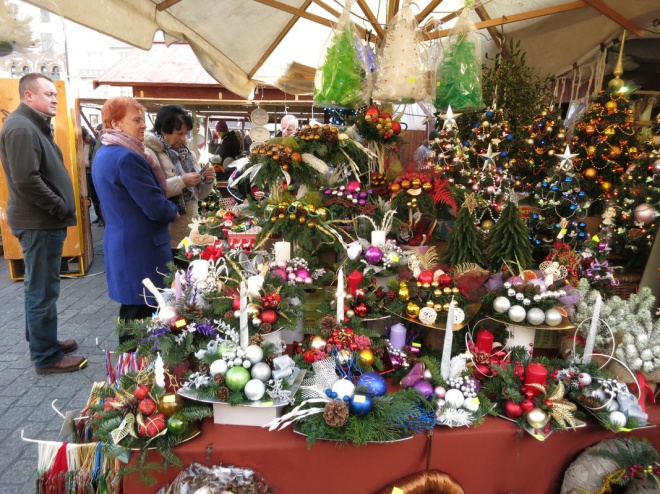 Annual Krakow Christmas Market at the Main Market Square